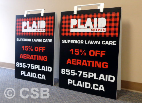 24x32 Sandwich Boards Sample