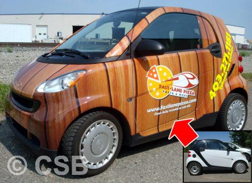Advertising Using Vehicle Graphics