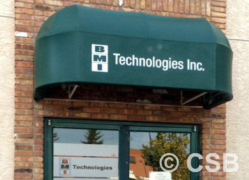 Awning Graphics Lettering Calgary