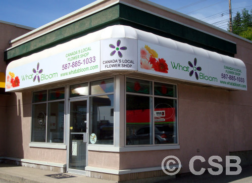 Calgary Commercial Awnings And Overhangs Fabrication