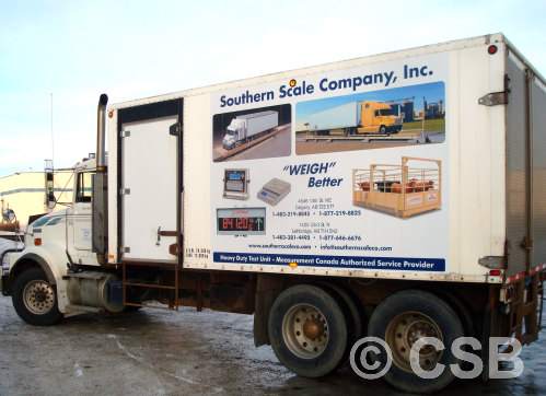 Box Truck Decals Manufacturing And Installation in Calgary