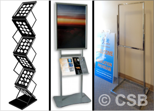 Brochure Poster Holders Stands Calgary