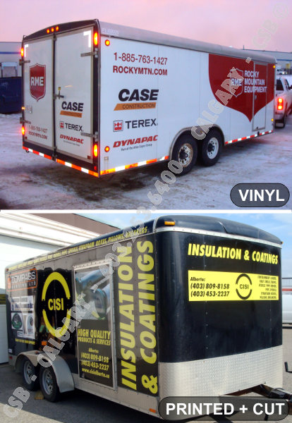 CSB Calgary Decals Wraps Trailers