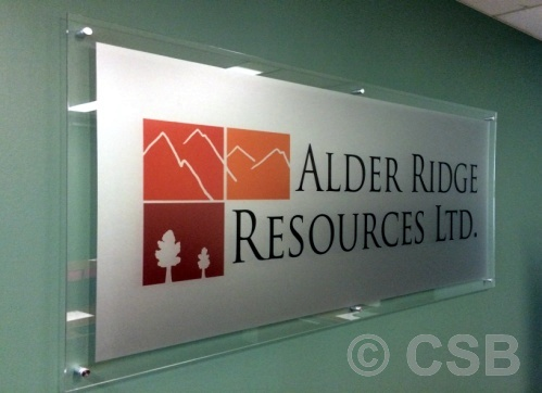 calgary office reception signs 3d wall signage name plates