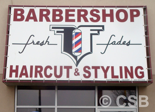 Calgary Commercial Awnings and Overhangs | Fabrication