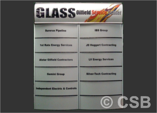 Directory Signs Manufacturing And Installation Company Calgary