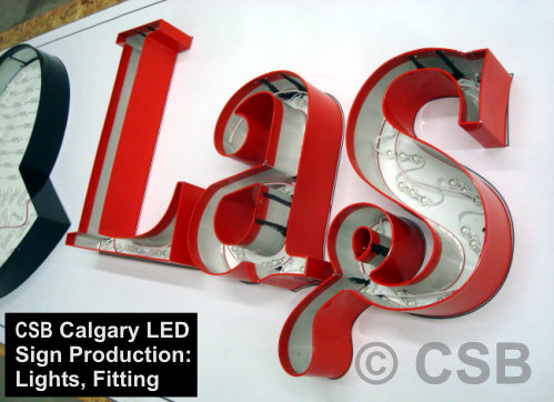 Calgary LED signs manufacturing light modules