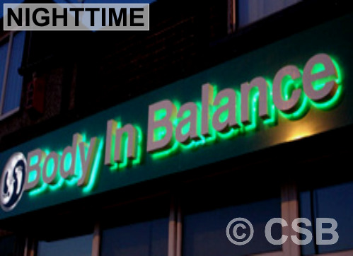 Calgary Manufacturing Of LED Glowing Letters Signage