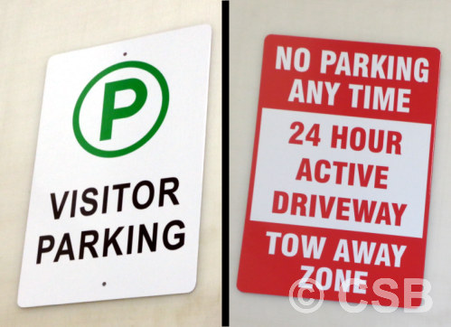 Calgary Parking Signage Manufacturing
