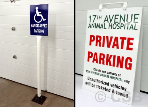 Calgary Parking Signs Supply