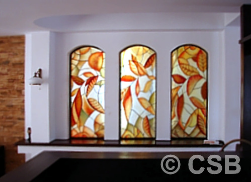 Stained Glass Effect Calgary