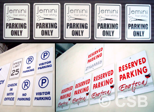 Calgary Standard And Personalized Parking Signs