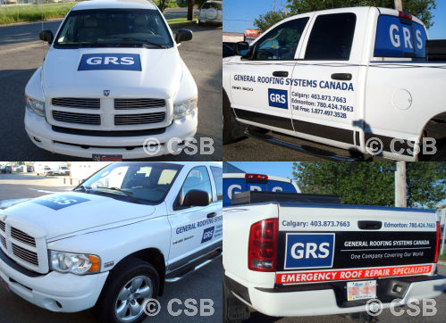 Calgary Truck Decal Design Manufacturing Installation