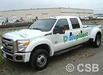 Ford F350 Doors 3 Colors Decal