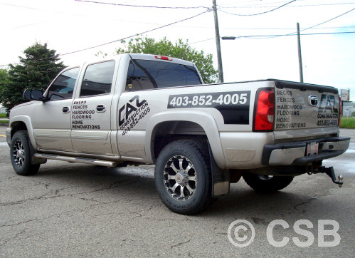 Calgary Truck Decals Doors Plus Bed Sides Plus Tailgate