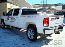 Calgary Truck Decals On Doors Bed Sides And Tailgate