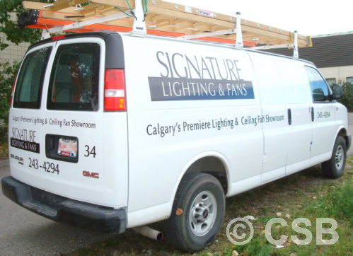 Van Decals Cut Vinyl Calgary