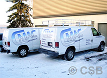 Extended Coverage Decals on Van Sample 3 in Calgary
