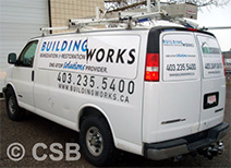 Extended Coverage Decals on Van Sample 4 in Calgary