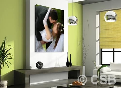 Calgary Wedding Photos Canvas Printing
