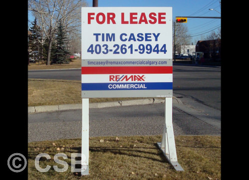 Commercial Property For Lease Signs
