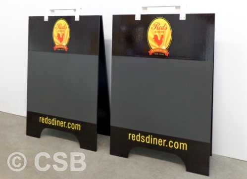 Custom Chalkboard Sandwich Board Signs Calgary
