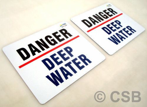 Custom Danger Signage