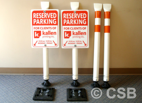 Custom Made Parking Signs