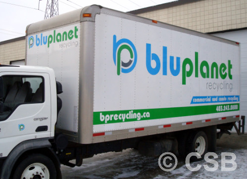 Delivery Box Truck Decals Calgary