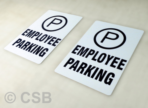 Employee Parking Standard Signs Calgary