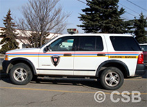 First Response Vehicle Decals Installations Calgary