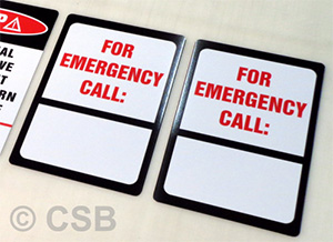 For Emergency Call