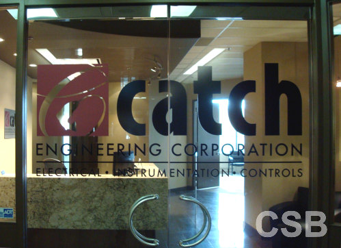 Custom Calgary Window Decals Amp Lettering