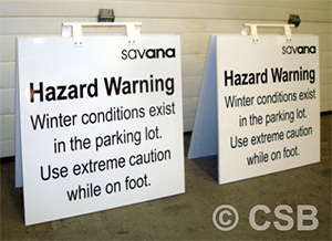 Hazard Winter Conditions