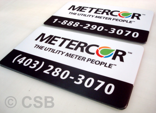 Magnetic Car Decals Sample 2