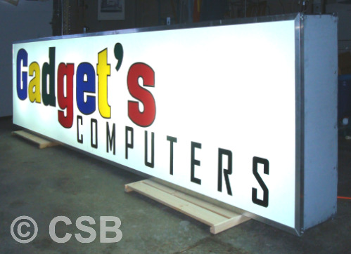 Manufacturing Of Backlit Signs Calgary Alberta