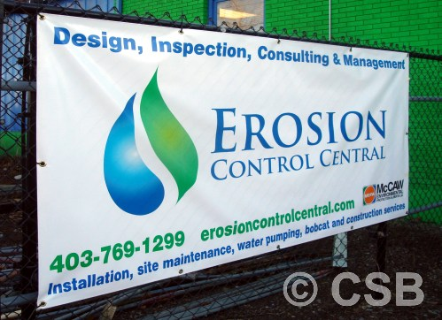 Calgarys BEST Banners Printed Full Color For Indoor Or Outdoor Use - Vinyl banners with grommets