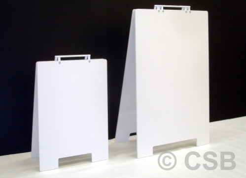PVC White Blank Sandwich Board Signs Supply Calgary.jpg