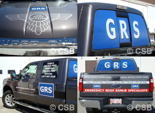 Premium Custom Truck Decal Package Calgary