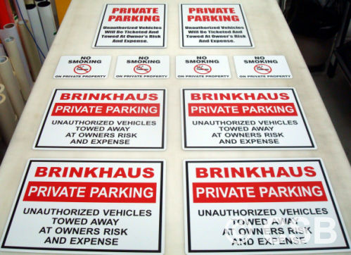 Private Parking Signs For Businesses