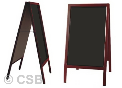 Chalkboard Sandwich Boards Ready-Made