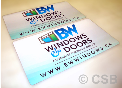 Removable Magnetic Vehicle Door Signs Sample
