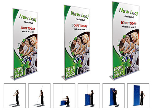 Lightweight And Easy To Assemble Banner Stands