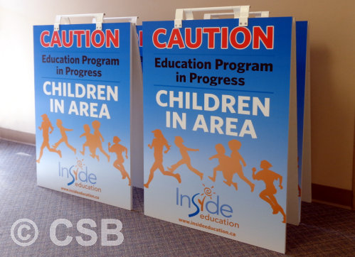 Specialty Sandwich Boards For Educational Institutions