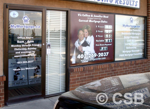 Storefront Window Decals Calgary-made With Installation Services