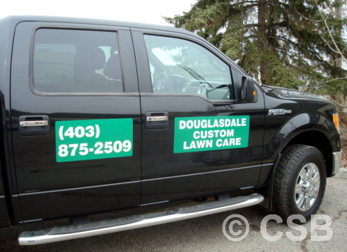 Calgary Magnetic Car Decals Manufacturing - Magnetic car decals
