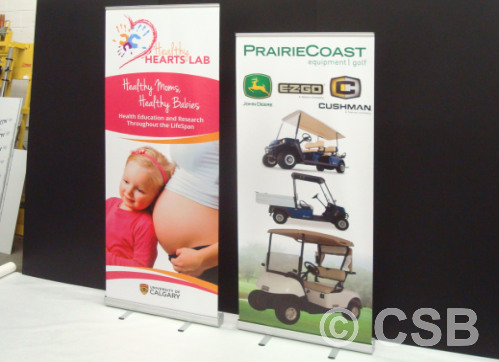 We Can Adjust The Heigth Of Our 'Value' Vertical Banner Stands