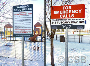 Wading Pool Rules