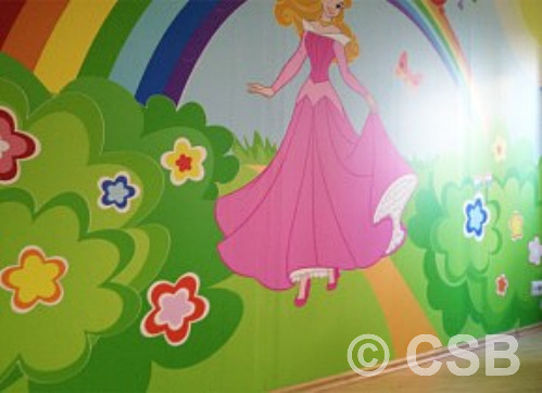 Kids Room Printed Wall Murals