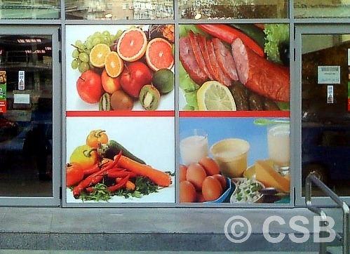 Translucent Window Graphics